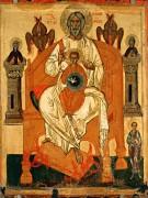 Отечество с избранными святыми (начало XV века) (113 х 88 см)