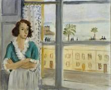 Девушка у окна - Матисс, Анри