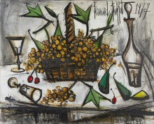 Корзина с виноградом II - Бюффе, Бернар