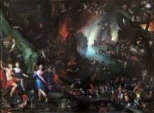 Орфей поет для Плутона и Прозерпины - Брейгель, Ян (Старший)