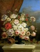 Натюрморт с цветами - Диас де ла Пенья, Нарсис