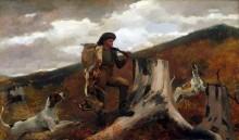Охотник с добычей и собаками - Хомер, Уинслоу