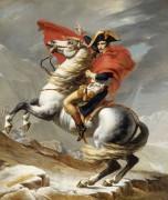 Наполеон на перевале Сен-Бернар - Давид, Жак-Луи