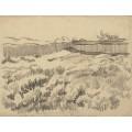 Огражденное пшеничное поле 3 (The Walled Wheatfield), 1890 - Гог, Винсент ван