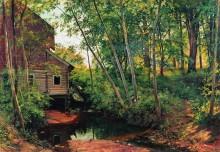 Мельница в лесу. Преображенское, 1897 - Шишкин, Иван Иванович