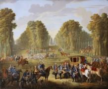 Охота Людовика XVI - сбор в Компьеньском лесу - Удри, Жан-Батист