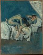 Эротическая сценка - Пикассо, Пабло