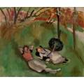 Две лежащие женщины - Матисс, Анри