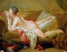 Лежащая девушка (Одалиска) - Буше, Франсуа