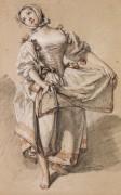 Танцующая сельская девушка - Буше, Франсуа