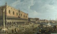 Венеция - Дворец Дожей и Рива дельи Скьявони - Каналетто (Джованни Антонио Каналь)
