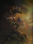 Геркулес и Эриманфский вепрь - Вальехо, Борис (20 век)