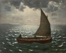 Рыбацкая лодка - Милле, Жан-Франсуа