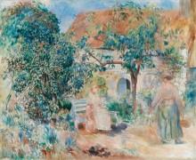 Сад в Бретани, 1886 - Ренуар, Пьер Огюст