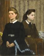 Сестры Беллели - Дега, Эдгар