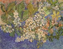 Ветка цветущего каштана - Гог, Винсент ван