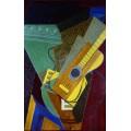 Гитара на столе - Грис, Хуан