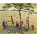 Сборщики яблок, 1888 - Писсарро, Камиль