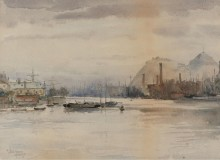 Скала, Думбартон, 1883 - Гассам, Чайльд