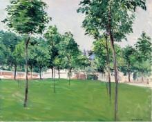 Прогулка в Аржантее, 1883 - Кайботт, Густав