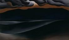 Штормовые облака, Лейк-Джордж - О'Кифф, Джорджия