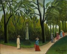 Люксембургский сад. Памятник Шопену - Руссо, Анри