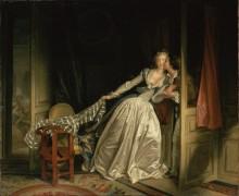 Украденный поцелуй - Фрагонар, Жан Оноре