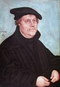 Портрет Мартина Лютера, 1543 - Кранах, Лукас Старший