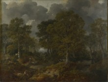 Лес возле Садбери, Саффолк - Гейнсборо, Томас