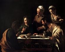 Ужин в Эммаусе - Караваджо, Микеланджело Меризи да