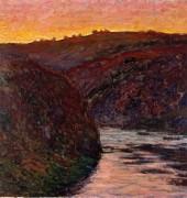 Крез на закате, 1889 - Моне, Клод