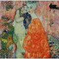 Подруги (картина погибла в пожаре в 1945 году) - Климт, Густав