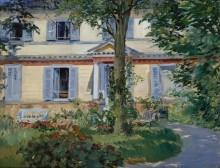Загородный дом в Рюэе - Мане, Эдуард