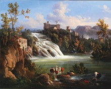 Изола-дель-Лири с водопадом Валькатойо - Карелли, Раффаэле