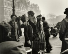 Поцелуй, Отель-де-Виль, 1950 - Дуано, Робер