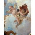 Ангел со свитками и путти с книгой, деталь - Тьеполо, Джованни Баттиста
