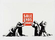 Конец распродажи - Бэнкси
