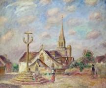 Церковь в Понт-Авене - Ренуар, Пьер Огюст