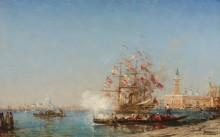 Праздник Успения в Венеции -  Зим, Феликс