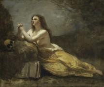 Кающаяся Мария Магдалина - Коро, Жан-Батист Камиль