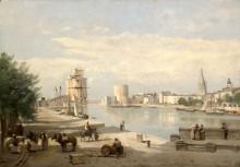 Старая гавань в Ла-Рошели - Коро, Жан-Батист Камиль