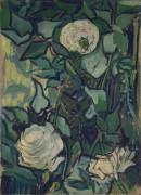 Розы и жук (Roses and Beetle), 1890 - Гог, Винсент ван