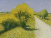 Дорога около Калхо - Ложе,  Ашиль
