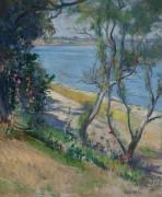 Вид на реку Пистака, Нью Кастл, Нью-Гемпшир - Тарбелл, Эдмунд Чарльз