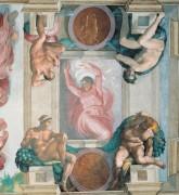 Отделение света от тьмы - Микеланджело Буонарроти