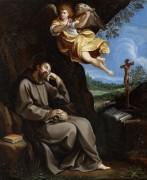 Святой Франциск и музицирующий ангел - Рени, Гвидо