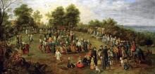Сельские танцы - Брейгель, Ян (Старший)