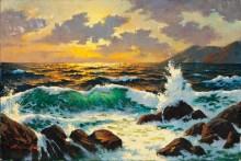 Морской пейзаж - Сарноф, Артур