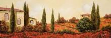 Дома и маковое поле - Борелли, Гвидо (20 век)