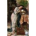 Изабелла и чаша с базиликом - Хант, Уильям Холман